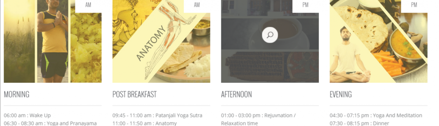 Daily Schedule at IndianYogshala
